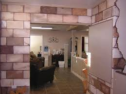 Cement Walls In Basement by Best 25 Cinder Block Walls Ideas On Pinterest Decorating Cinder