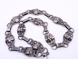 antique sterling silver necklace images Silver jewlery cydneys antiques vintage european imports jpg