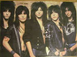 metal hair the l a guns page vintage pinup 1980 s and 90 s metal