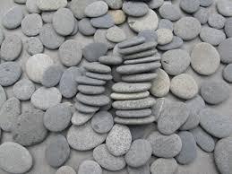 wedding wishing stones 75 stones 1 25 to 1 75 smooth flat rocks wedding stones