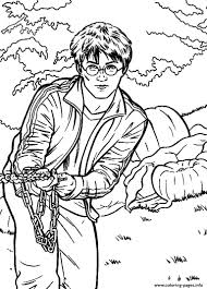 harry potter frees coloring pages printable