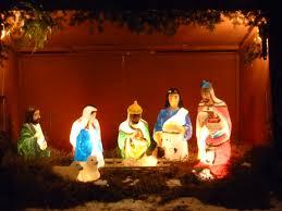 outdoor nativity lighted outdoor nativity outdoor lighting