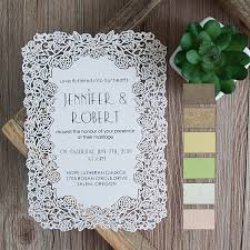 sle rsvp cards flower laser cut wedding invitations efws001 as low as 1 35