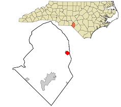 Nc Zip Code Map Wagram North Carolina Wikipedia
