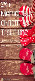 30 traditions ideas for families