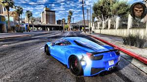ferrari 458 widebody gta 6 graphics ferrari 458 widebody m v g a gameplay