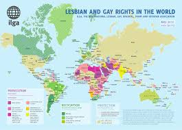 World Geography Map And Rights In The World U2014geography Of Bigotry And