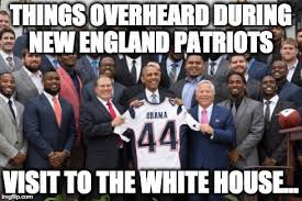 Patriots Meme - meme d from the headlines patriots in the white house the interrobang
