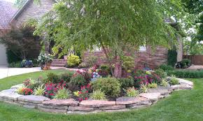 Landscaping Rock Ideas Garden Sweet Outdoor Home Design Ideas With Front Yard Landscape