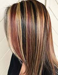 chunking highlights dark hair pictures how to highlight your hair at home 4 different ways