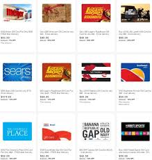 cyber monday gift card deals gift cards on sale on ebay 12 sears 8 gas 10