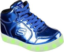 childrens skechers s lights energy lights eliptic high top sneaker