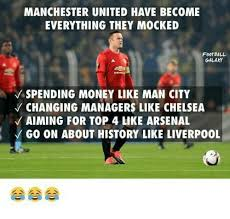 Funny Man Utd Memes - manchester united have become everything they mocked football galaxy