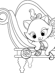 disney coloring pages marie coloring print disney coloring pages