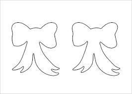 9 printable bow tie templates u2013 free word pdf format download
