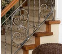 wrought iron stair railing kits attractive staircase design ideas