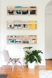 wall mounted magazine rack ikea the organized magazine wall rack