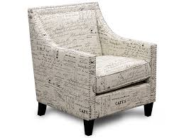 French Script Armchair Erica French Script Accent Chair Bailey U0027s Furniture