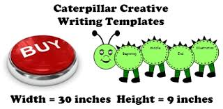 large caterpillar writing templates caterpillar shaped creative