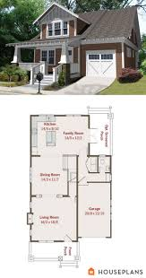 Arts And Crafts Bungalow House Plans 137 Best Arts Crafts Floor Plans Images On Pinterest Craftsman