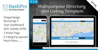 hashpro listing and directory template by scriptsbundle themeforest