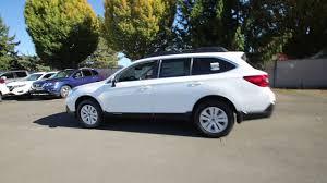 subaru outback white 2018 subaru outback 2 5i premium white j3240200 auburn
