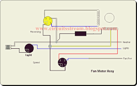 top 3 types of ceiling fan circuit diagram circuitsan youtube