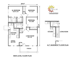 800 Square Foot House Plans Small Home Floor Plans Under 1000 Sq Ft Magnificent 28 Awetsuwe Net