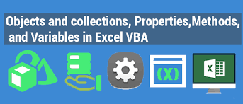 objects and collections properties methods and variables in