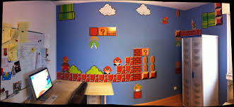 mario wall decal nintendo donkey kong super bros dennis mario wall stickers