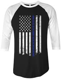 Thin Blue Line Flag Threadrock Tees For Adults And Kids Honor U0026 Respect Thin Blue