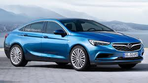 vauxhall insignia grand sport all new 2017 opel vauxhall insignia grand sport will debut at