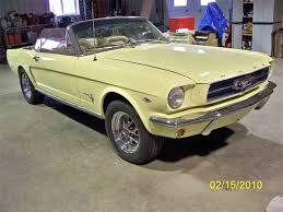 1965 yellow mustang 1963 to 1965 ford mustang for sale on classiccars com 251