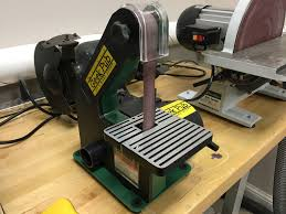 shop tour grizzly h3140 harbor freight central machinery 1x30