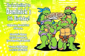 printable birthday cards with turtles tmnt printable birthday cards birthday