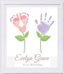baby handprint crafts preschool crafts