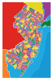map of nj new jersey town type map i lost my