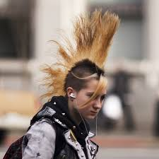 hairstyle punk skater cut 1980s 48 best mohawks images on pinterest mohawk hairstyles mohawks