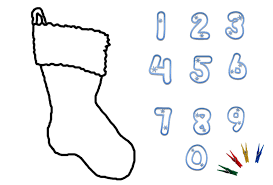 christmas numbers printable clipart panda free clipart images