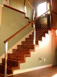 awesome wire stair railing 4 stainless steel stair railing kits