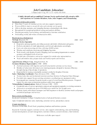 Profile Resume Examples by Profile Resume Examples For Customer Service Free Resume Example