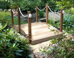 yard bridge backyard bridges garden bridge plans free outdoor diy shed wooden