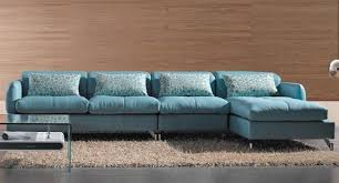 light blue leather sectional sofa smallsofacollections com