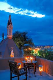 santa fe new mexico at night is this on top of la fonda if i
