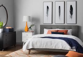 Tousled Bed Sheets Linen Road Written Feathers U0027 3 Piece Framed Graphic Art Set U0026 Reviews Allmodern
