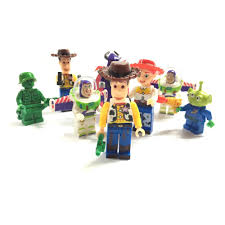 motocross action figures 8pcs small toy story woody buzz lightyear action figures model
