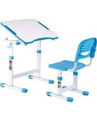 get the deal ikayaa height adjustable children study desk and