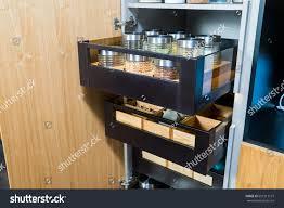 kitchen food storage cupboard kitchen cupboard food storage stock photo edit now 607213127