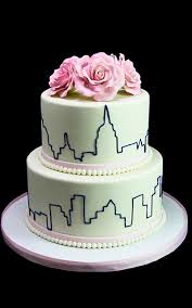 wedding cake nyc new york skyline roses wedding cake butterfly bake shop in new