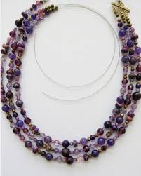 making bead necklace images Diy jewelry tutorial how to make a multi strand beaded necklace jpg